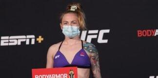 Kay Hansen UFC
