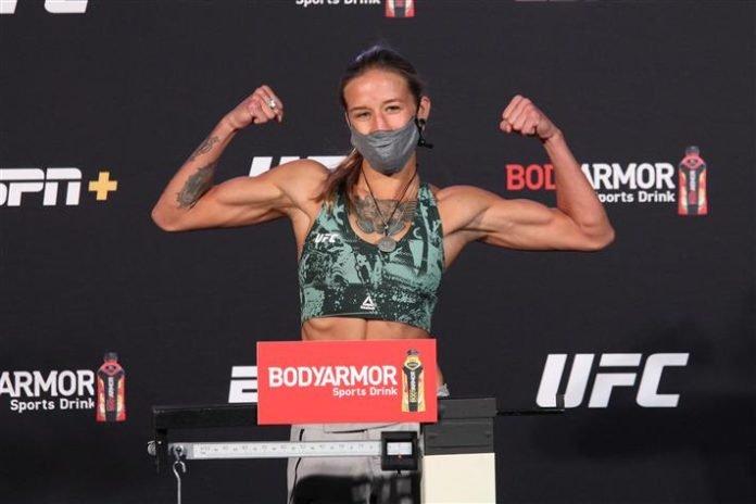 Mariya Agapova, UFC