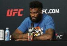 Maurice Greene UFC on ESPN 12