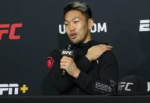 Takashi Sato UFC on ESPN 12