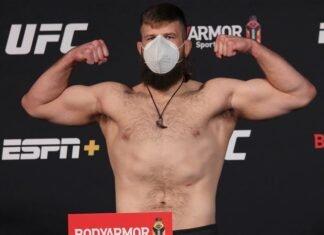 Tanner Boser UFC