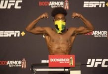 Aljamain Sterling, UFC 250