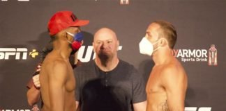 Neil Magny and Anthony Rocco Martin, UFC 250