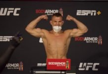 Ian Heinisch, UFC 250