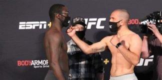 Anthony Ivy vs. Christian Aguilera UFC on ESPN 10