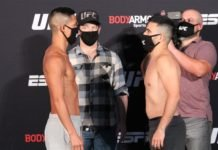 Tyson Nam vs. Zarrukh Adashev UFC on ESPN 10