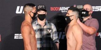 Tyson Nam vs. Zarrukh Adashev UFC on ESPN 10