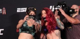 Julia Avila vs. Gina Mazany UFC on ESPN 10