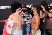 Merab Dvalishvili vs. Gustavo Lopez UFC on ESPN 10