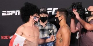 Merab Dvalishvili vs. Gustavo Lopez UFC on ESPN 10