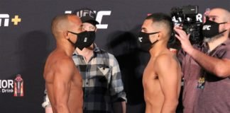 Jordan Espinosa vs. Mark De La Rosa UFC on ESPN 10