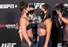 Jessica Eye vs. Cynthia Calvillo UFC on ESPN 10