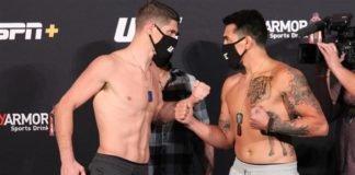 Charles Rosa vs. Kevin Aguilar UFC on ESPN 10