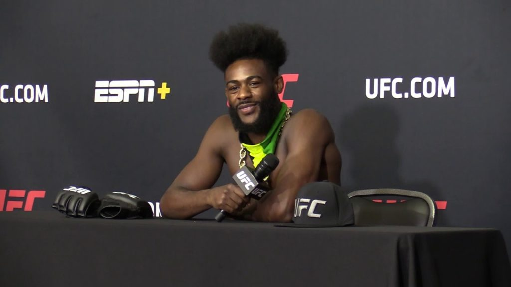Aljamain Sterling UFC 250 post-fight