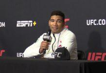 Herbert Burns UFC 250