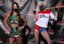 Alesha Zappitella and Lindsey VanZandt Invicta FC 40