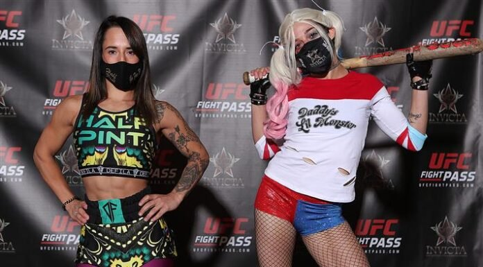 Alesha Zappitella and Lindsey VanZandt Invicta FC 40