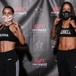 Emily Ducote and Juliana Lima Invicta FC 40