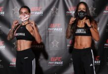 Emily Ducote and Juliana Lima Invicta FC 40