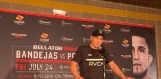 Aaron Pico Bellator 242