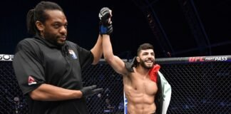 Amir Albazi, UFC Fight Island 2