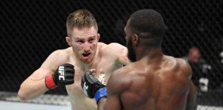 Brett Johns batles Montel Jackson at UFC Fight Island 2