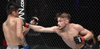 Nathaniel Wood and John Castaneda, UFC Fight Island 3