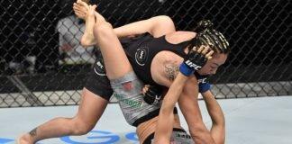 Carla Esparza and Marina Rodriguez, UFC Fight Island 3