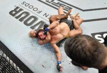 Deiveson Figueiredo chokes out Joseph Benavidez at UFC Fight Island 2