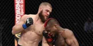 Rafael Fiziev battles Marc Diakiese at UFC Fight Island 2