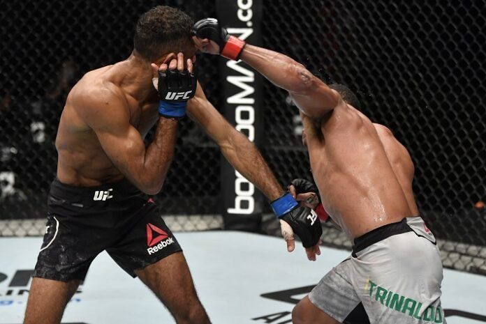 Jai Herbert and Francsico Trinaldo, UFC Fight Island 3