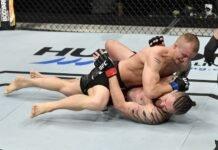 Jesse Ronson and Nicolas Dalby, UFC Fight Island 3