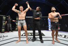 Jack Hermansson defeats Kelvin Gastelum at UFC Fight Island 2