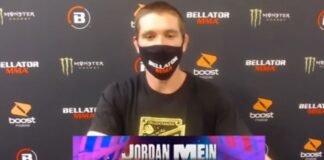 Jordan Mein Bellator 242