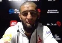 Khamzat Chimaev UFC Fight Island 3