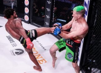 Raufeon Stots vs Cass Bell, Bellator MMA