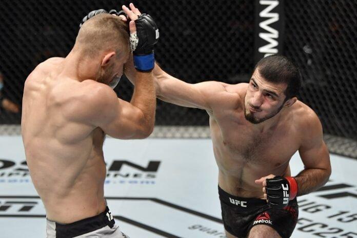Niklas Stolze and Ramazan Emeev, UFC Fight Island 3