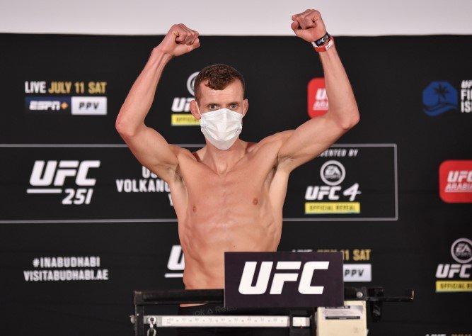 Davey Grant UFC