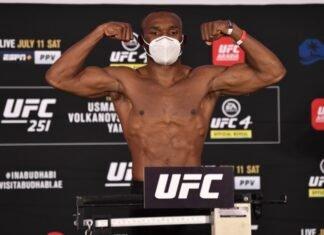 UFC 258 Kamaru Usman