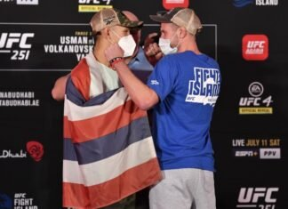Davey Grant and Martin Day, UFC 251