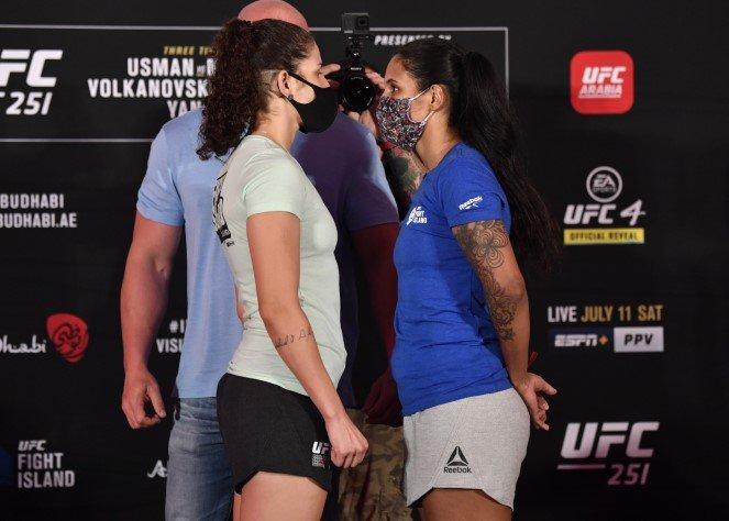 Karol Rosa and Vanessa Melo, UFC 251