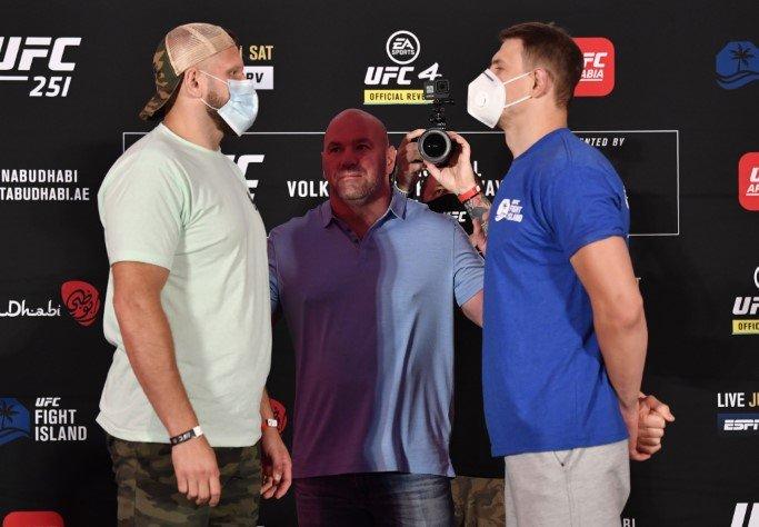 Marcin Tybura and Maxim Grishin, UFC 251