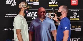 Leonardo Santos and Roman Bogatov, UFC 251