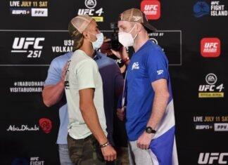 Makwan Amirkhani and Danny Henry, UFC 251