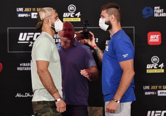 Volkan Oezdemir and Jiri Prochazka, UFC 251