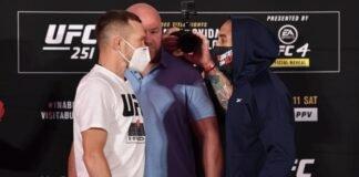 Petr Yan and Jose Aldo, UFC 251