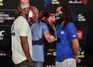 Kamaru Usman and Jorge Masvidal, UFC 251
