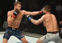 Calvin Kattar UFC Fight Island 1