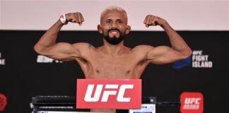 Deiveson Figueiredo UFC Fight Island 2 weigh-in