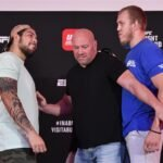 Carlos Felipe and Sergey Spivak, UFC Fight Island 2